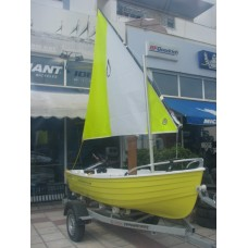 Sailing and fishing boat Ostria Penguin Latini
