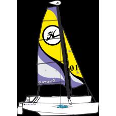 Sailing boat Hobie catamaran Catsy